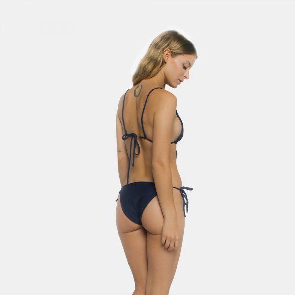 Anna Tannous Barcelona bikini azul blue