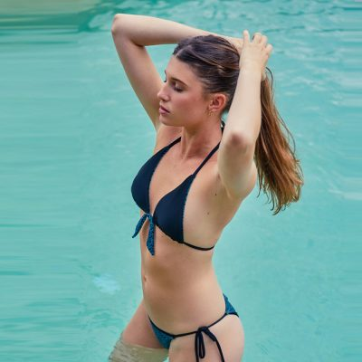ana Tannous Barcelona bikini