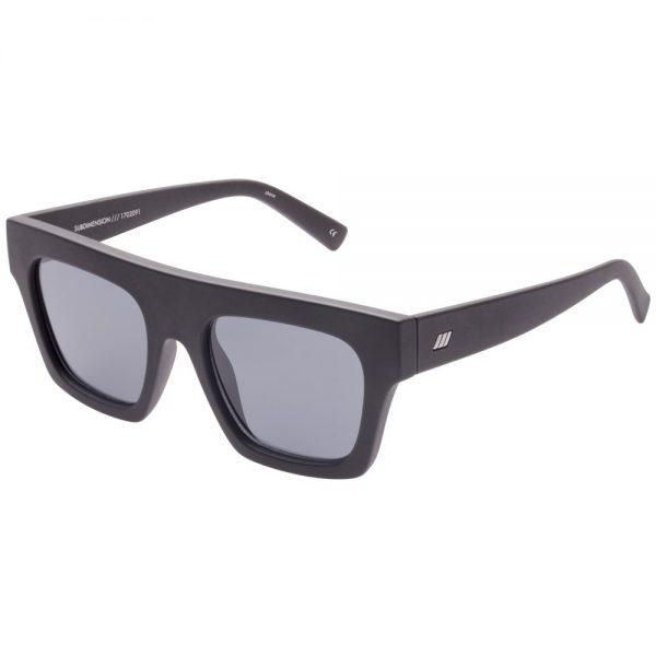 Subdimension Black Rubber sunglasses
