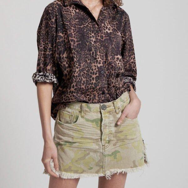 Vanguard Safari Camo Skirt