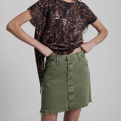 Falda Viper Super Khaki
