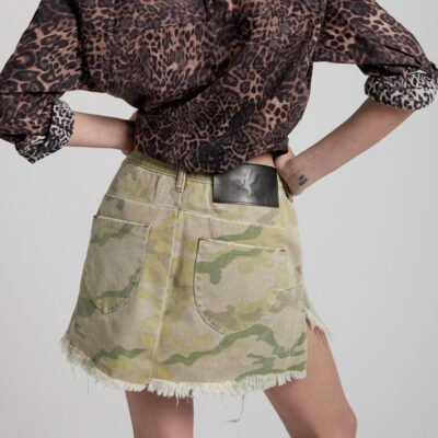 Vanguard Safari Camo Skirt