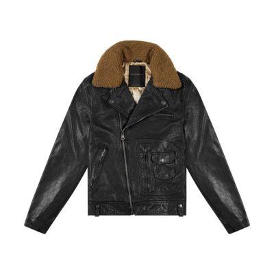Nail Leather Jacket