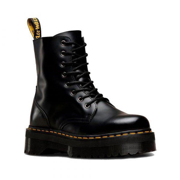Bota JADON Color negro polished smooth