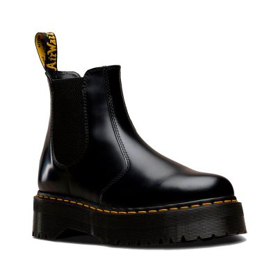 2976 QUAD Black Polished Smooth Boot