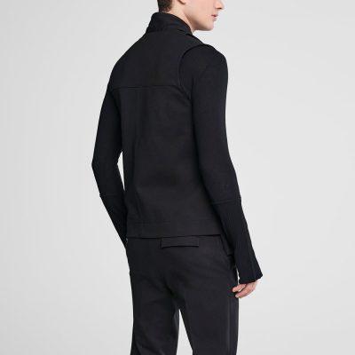 Jersey utility vest
