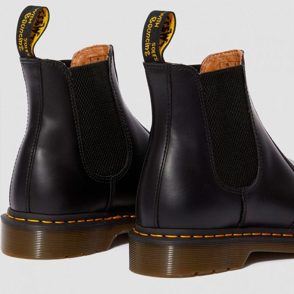 2976 SMOOTH Black Chelsea Boot