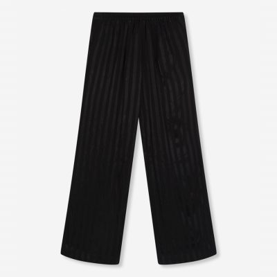 Pantalones fluidos a rayas