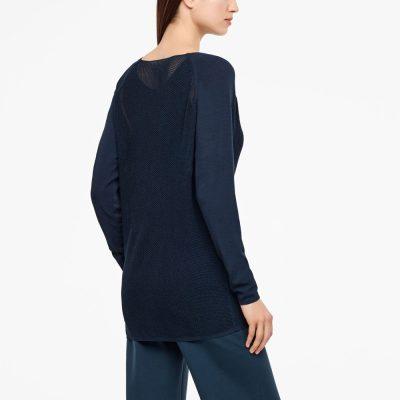 Suéter largo Dahlia