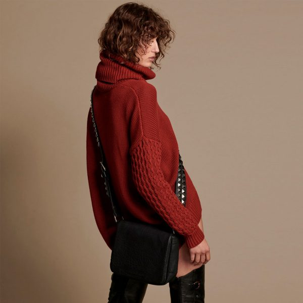 Jersey Rider Roll Neck