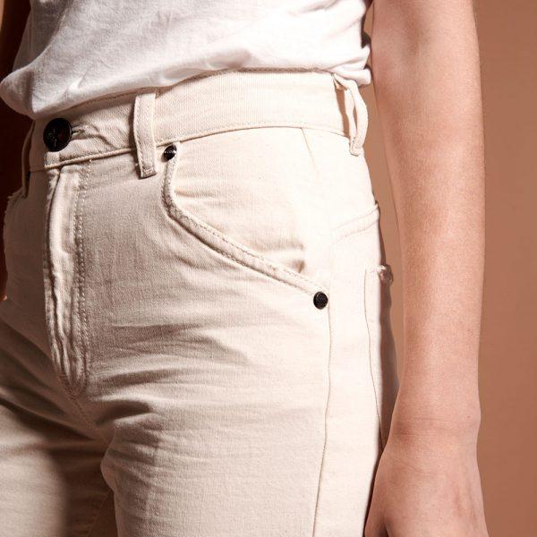 Libertines cream jeans