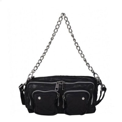 Bolso Stine Chain washed black