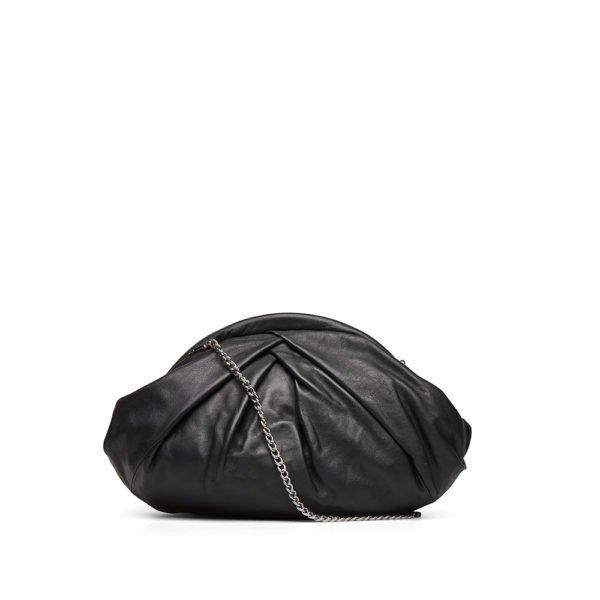 Saki silky black bag