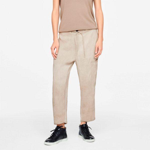 Drawsting linen pants