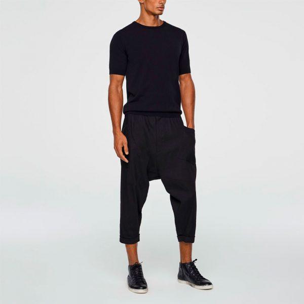 Cropped Sarouel pants