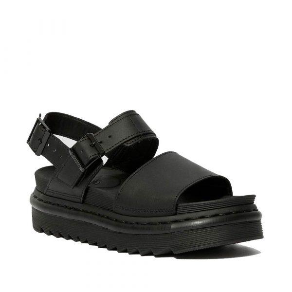 Voss hydro black sandal