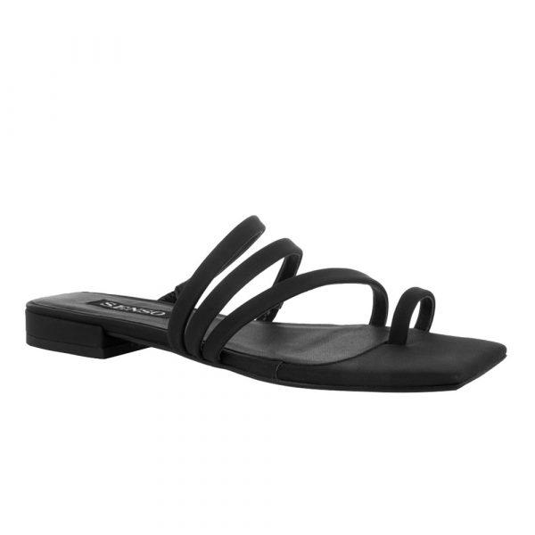 Ulissa I ebony sandal