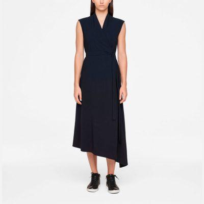 Vestido midi urbano