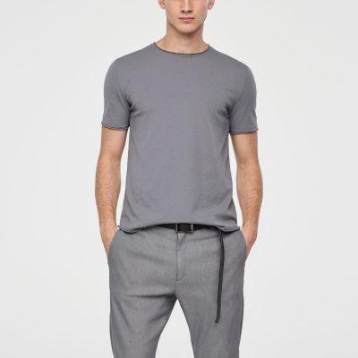 Suéter de algodón y mangas cortas