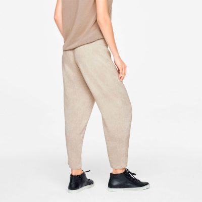 Pantalones de lino con cordón