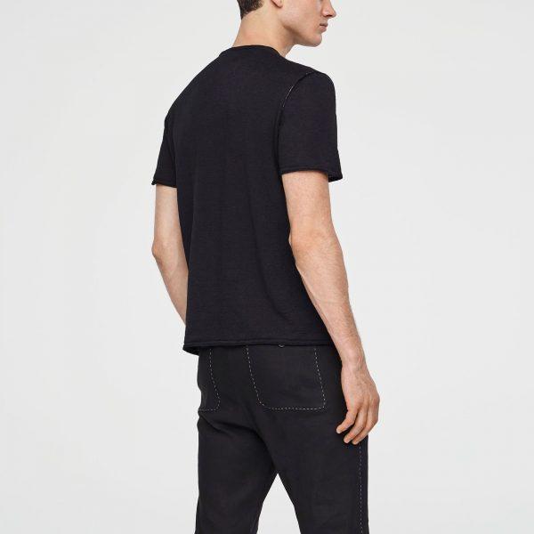 Short sleeves linen t-shirt