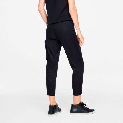 Pantalones de lino rectos