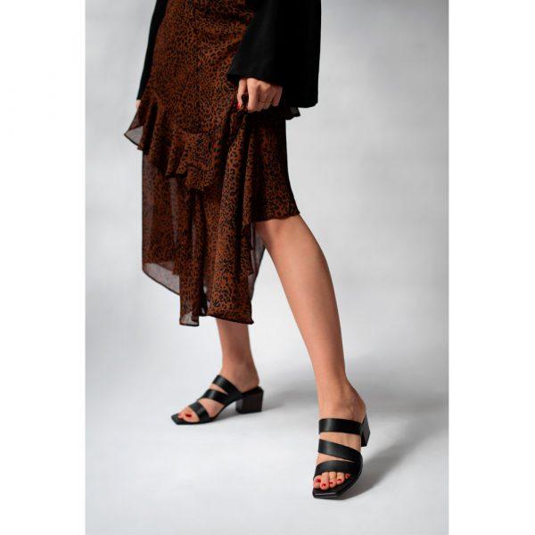 Kayla ebony sandal