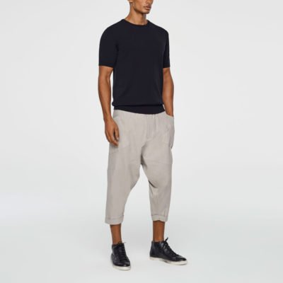 Cropped Sarouel pants