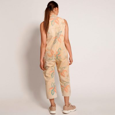 Braxton tropical jumpsuit