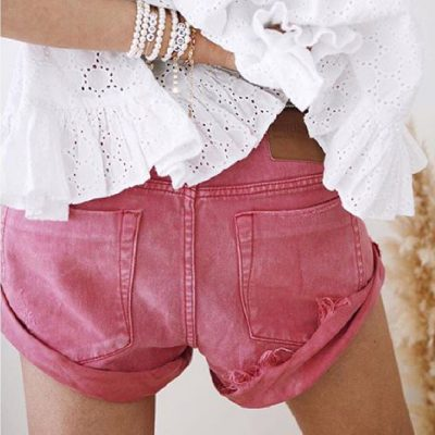 Bandits coral crush shorts