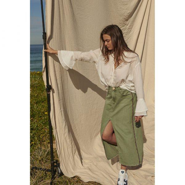 Rocko super khaki skirt