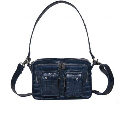 Bolso Ellie Croco navy