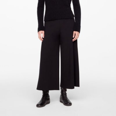 Wide ankle leg pants