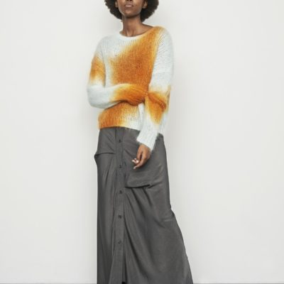 Edel ginger combo sweater