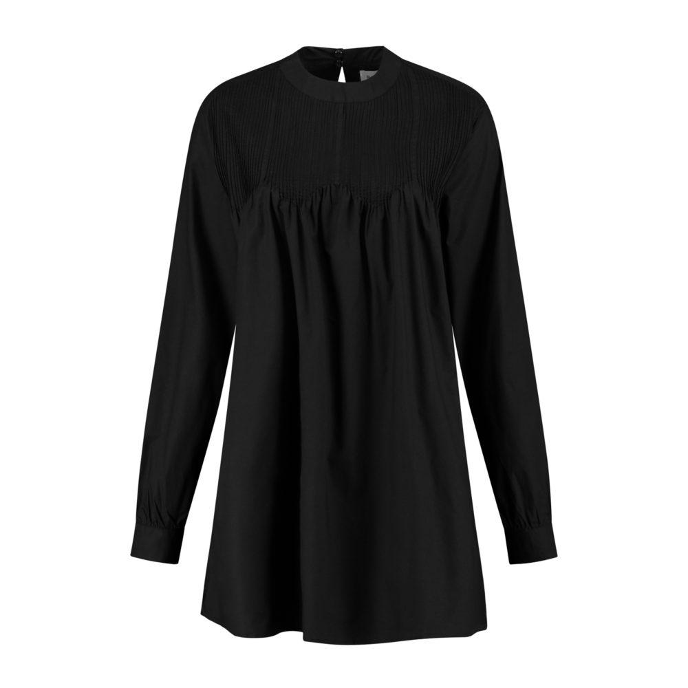 memphis dress black_Front