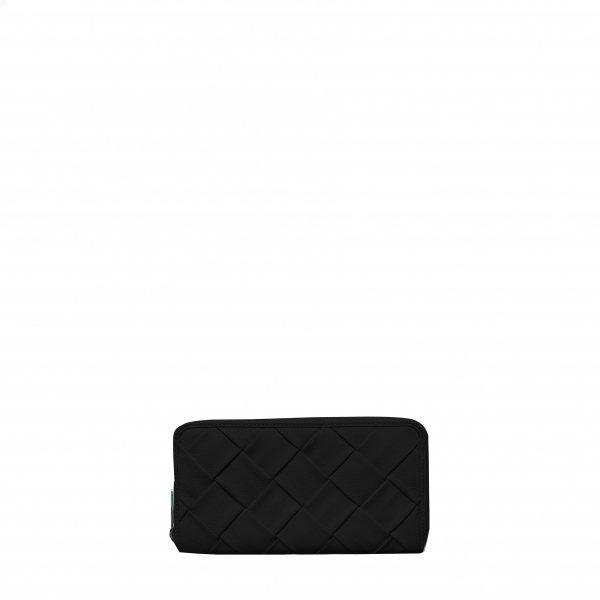 Mom braided black Wallet