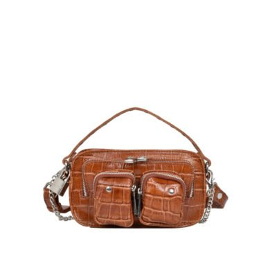 Helena croco cognac bag