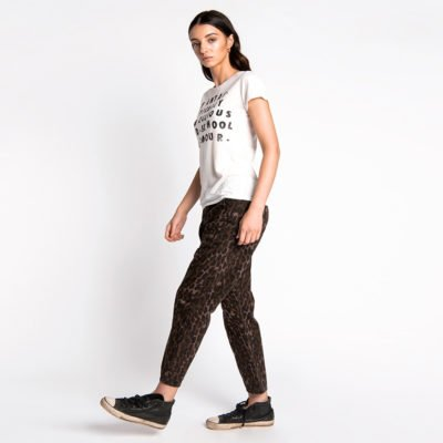 Sinners bronze leopard jeans