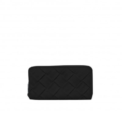 Mom braided black Wallet