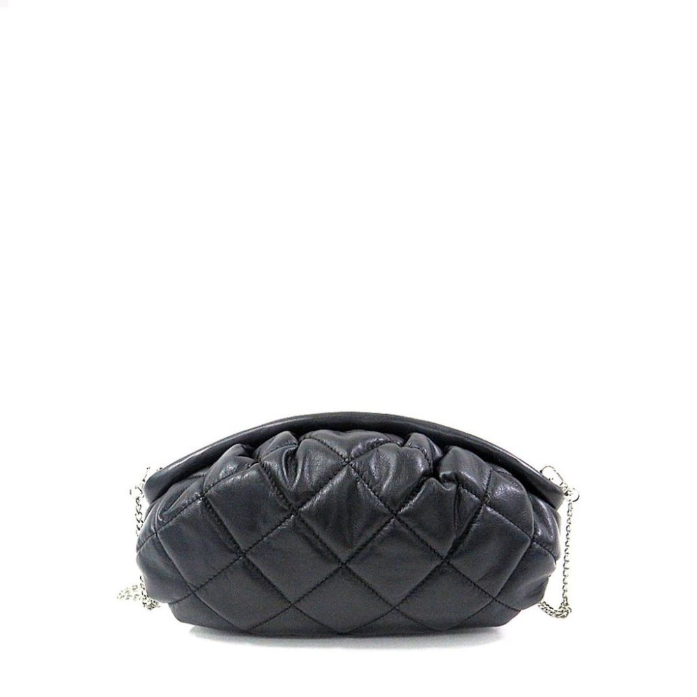 Bolso Lin Smooth Quilt Black Núnoo_1