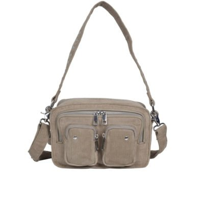 Ellie corduroy beige bag
