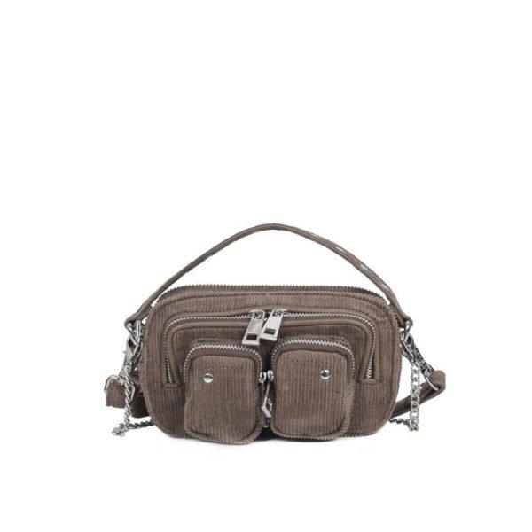 Helena corduroy dark grey bag
