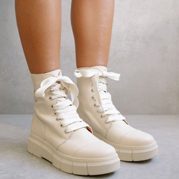 Botines Can Can Beige