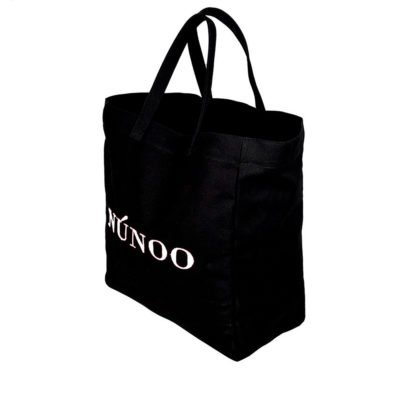 Bolso tote recycled canvas negro