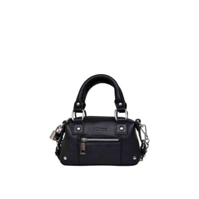 Bolso Mini Bobby pure black