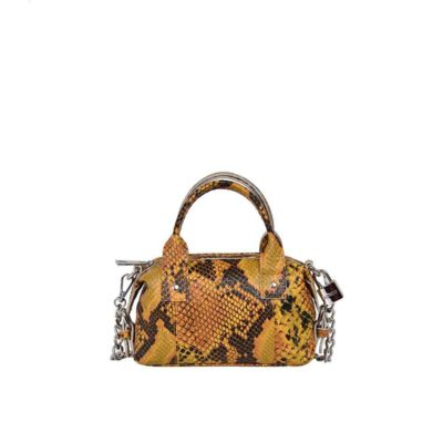 Mini Bobby snake deluxe yellow bag