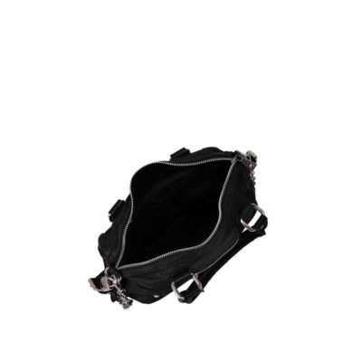 Bolso Small Bobby washed black