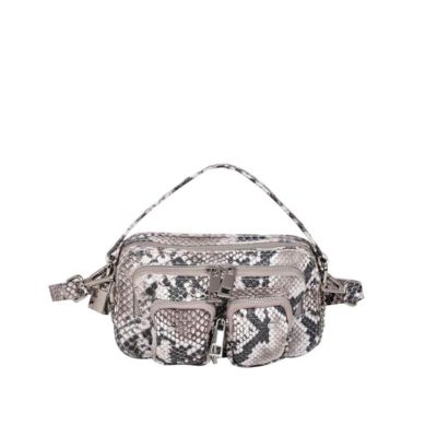 Helena snake deluxe white bag (PRE-SALE)