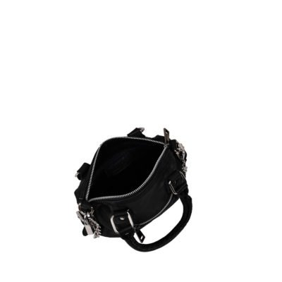 Bolso Mini Bobby washed black