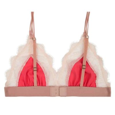 Love Lace bralette raspberry